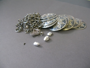 Sterling Silver with Niello,